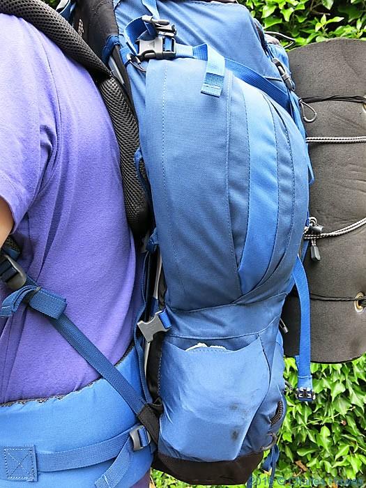 Vango Sherpa 60+ 10 rucksack photographed by Charles Hawes