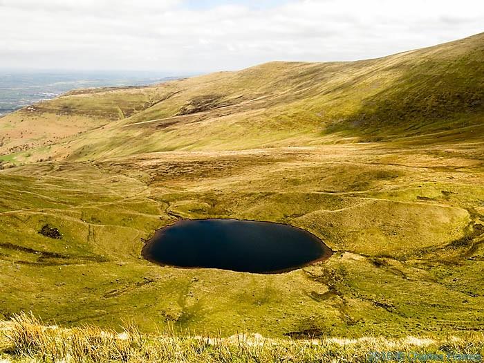 Llyn Cwn Llwch, Brecon Beacons, photographed by Charles Hawes