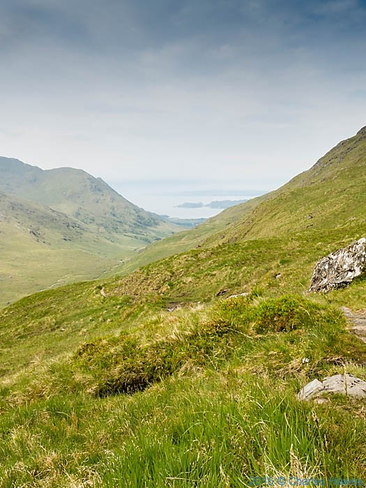 View to Loch Nevis, Scotland from Knoydart, photographed by Charles Hawes