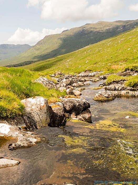 Allt Coire Torr an Asgaill, Knoydart, Scotland, photographed by Charles Hawes