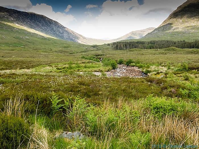 Abhainn Bheag, Knoydart, Scotland, photographed by Charles Hawes