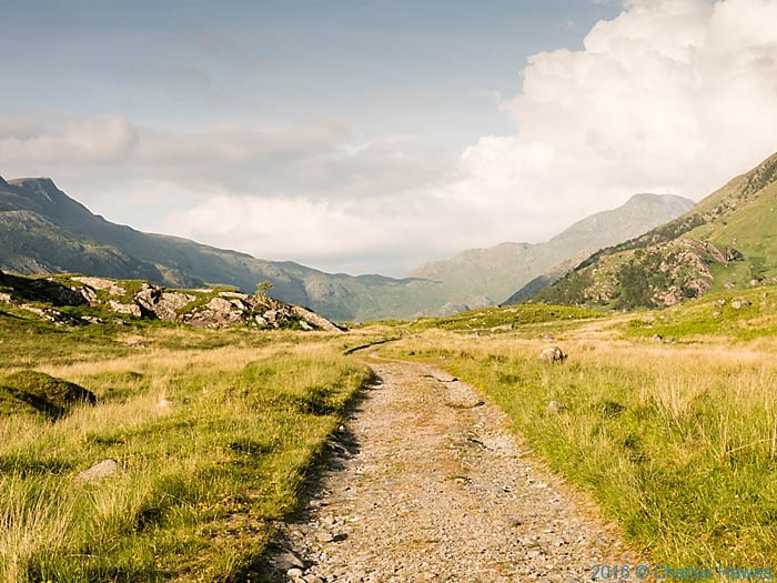 Track from Inverie, to Loch an Dubh-Lochain, Knoydart, Scotland, photographed by Charles Hawes
