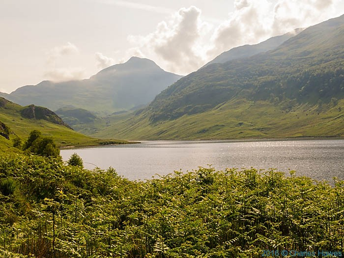 Loch an Dubh Lochain, Knoydart penisula, Scotland, photographed by Charles Hawes