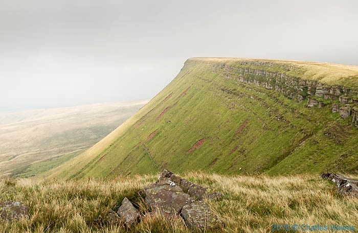 Bannau Sir Gaer, the Cambrian Way, photographed by Charles Hawes