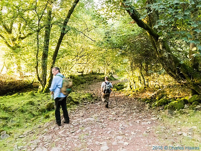 Cambrian Way near Llandeusant photographed by Charles Hawes