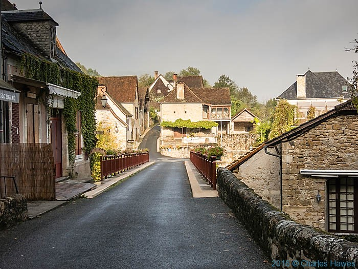 Carennac, Dordogne, France, photographed by Charles Hawes
