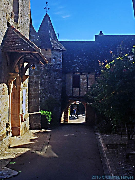 Loubressac, France, photographed by Charles Hawes