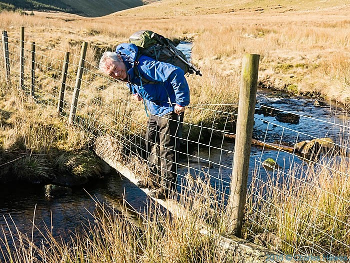 Crossing Groes Fawr near the Cambrian Way in Ceredigion, photographed by Neil Smurthwaite