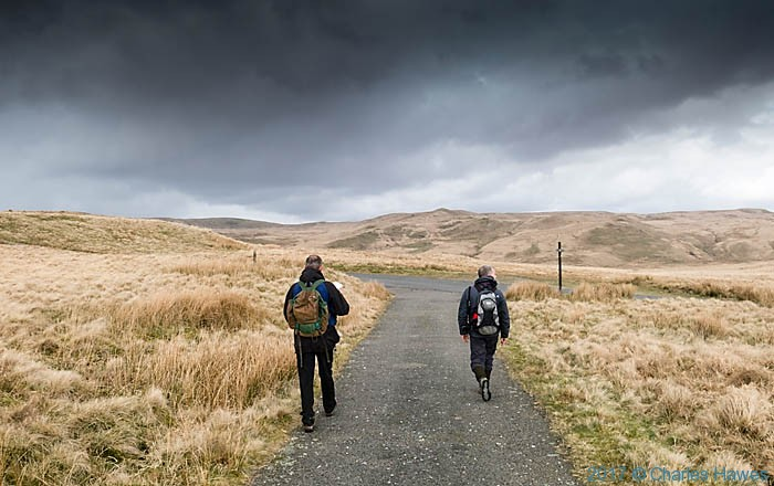 The Cambrian Way near Teifi Pools, photographed by Charles Hawes