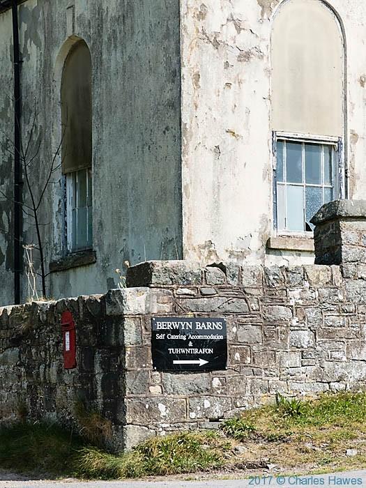 Chapel near Llanarmon Dyffryn Ceiriog, Wales, photographed by Charles Hawes