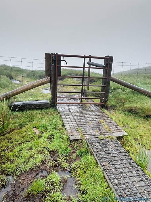 Bwlch Maen Gwynedd, Berwyn Range, photographed by Charles Hawes