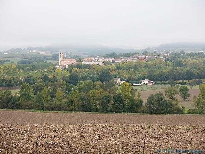 View of Vieux from the GR46, France, photographed by Charles Hawes