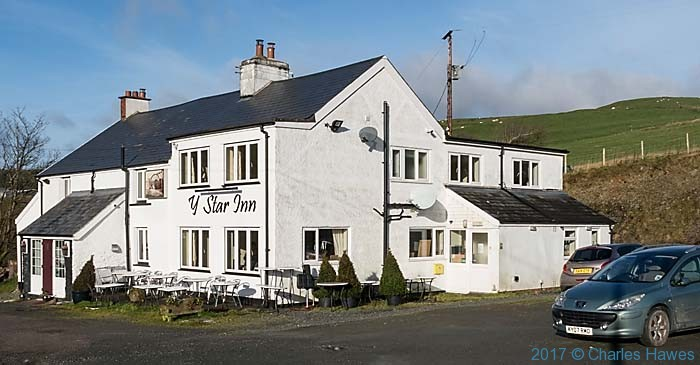 Y Star Inn, Dylife, photographed by Charles Hawes