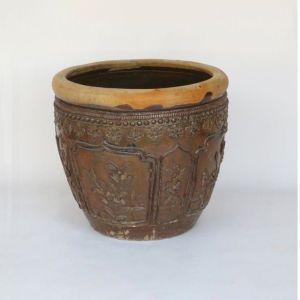 Big Ceramic Pot, Shanxi Province, China, Late 19th Century