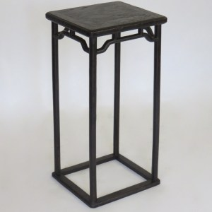 Black Lacquer Tea Stand