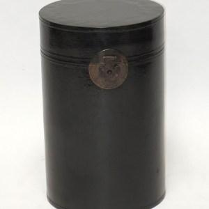 Black Lacquer Hat Boxes