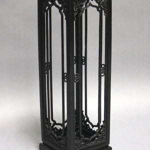 Black Lacquer Lamp Box