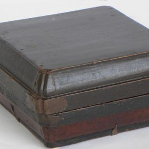 Black and Red Lacquer Box, Shanxi Province, China