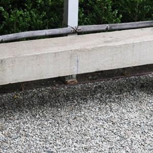 3-Part Stone Bench