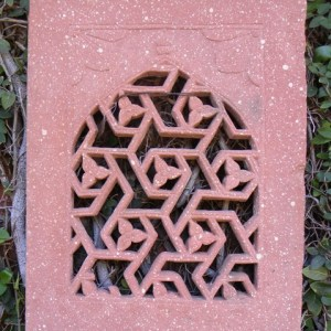 red sandstone Jali