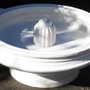 White Marble Urli Fountain