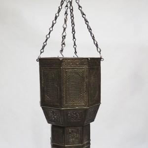White Metal Pendant Lamp