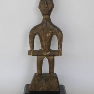 carved wooded figure