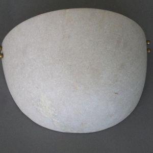 Marble Half Moon Wall Lamp Shade