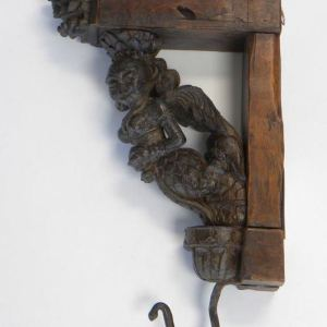 Carved Wooden Bracket