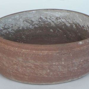 Red Sandstone Water Pot with Handles