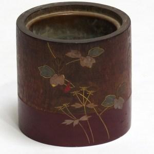 Kiri Wood Lacquered Hibachi