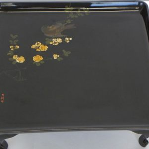 Painted Lacquer Tray, Japan