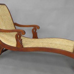Jak Wood Chaise Lounge