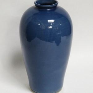 Cobalt Blue Ceramic Vase