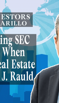 Navigating SEC Regulations When Syndicating Real Estate with Mauricio J Rauld (Youtube)