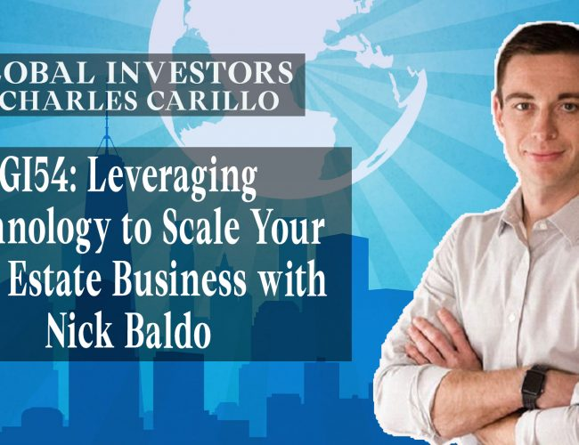 Leveraging Technology to Scale Your Real Estate Business with Nick Baldo (Youtube)
