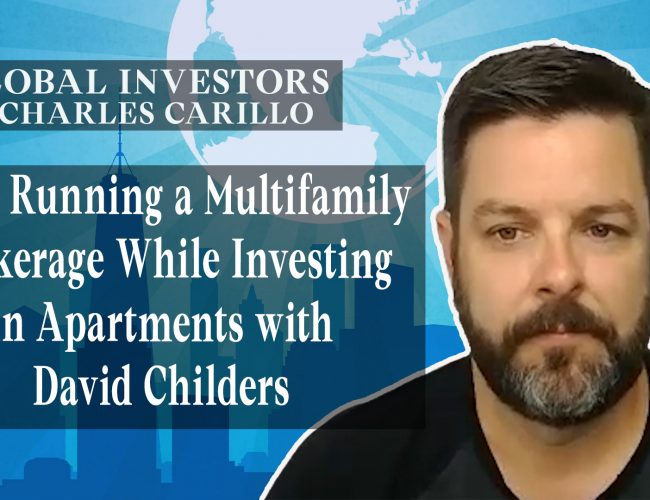 Running a Multifamily Brokerage While Investing in Apartments with David Childers (Youtube)