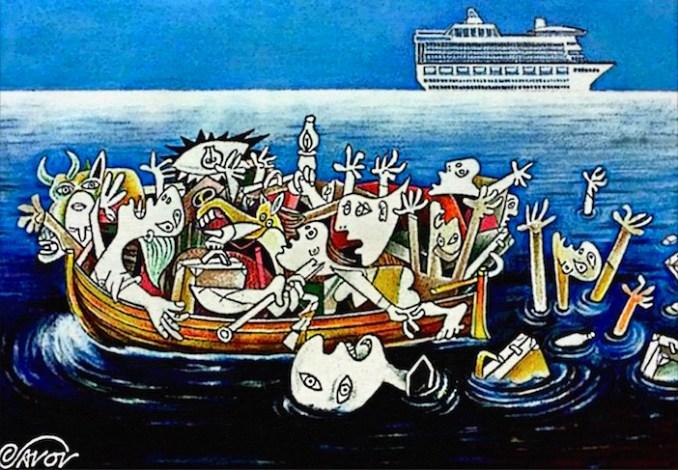 Jovcho Savov's Aegean Guernica