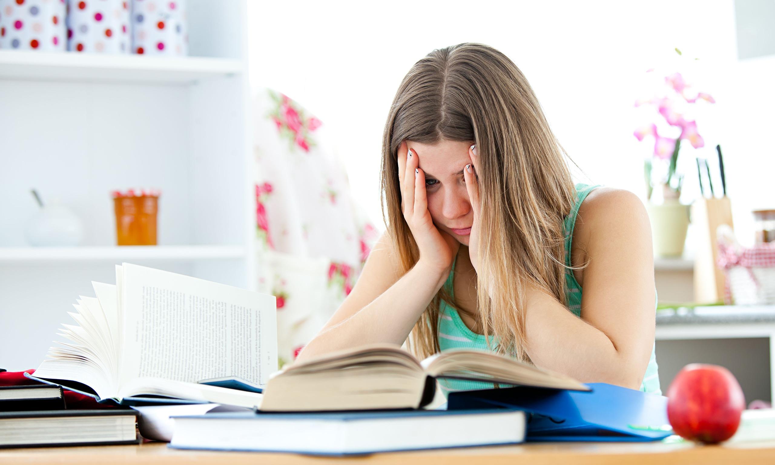 student struggles