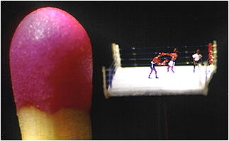 Match head and boxing match