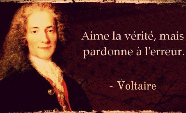 Une citation de Voltaire