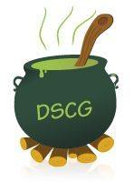 chaudron avec écrit DSCG
