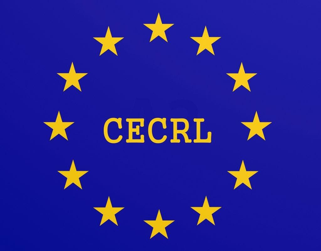 Drapeau européen et CECRL