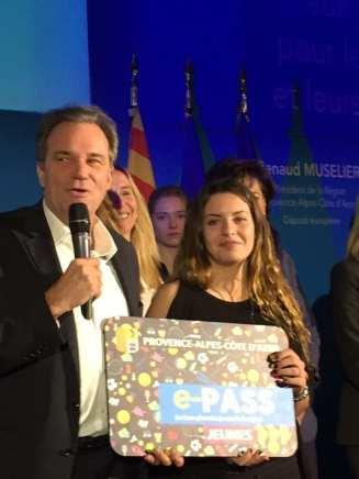 photo de la soirée de lancement e-PASS jeunes avec Renaud MUSELIER
