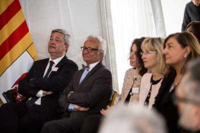 Stéphane THIEBAUT aux côtés de Gérard VITALIS, de Mme LARDEAU, Mme AMBROSINO et Mme CAULE