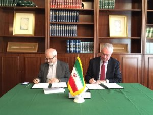 Elcano Royal Institute has signed an MoU with Prof. Sajadpour, president of the Iranian Institute for Political and International Studies in Tehran.