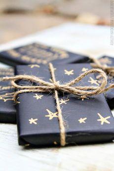 christmas gift black