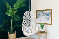Charles Ray and Coco - blog deco et design - fauteuil rotin