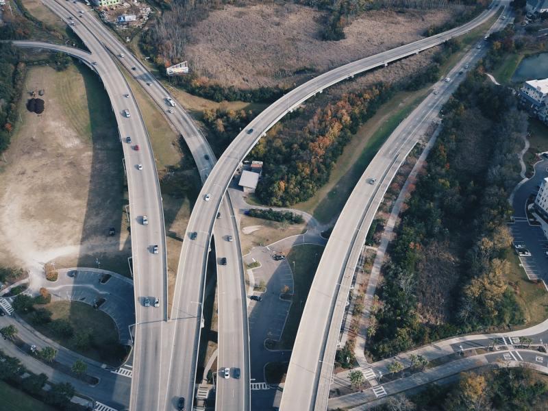 highway road bridge ravenel