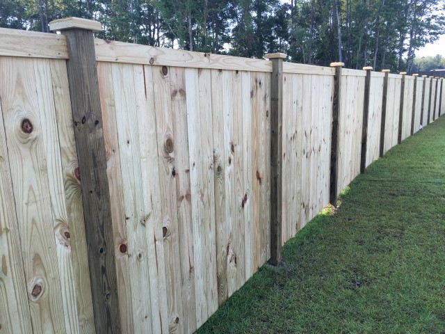 Style Privacy Charleston Fence